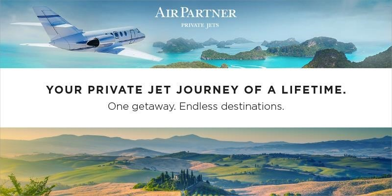 AIR PARTNER INTRODUCES NEW PRIVATE JET ESCAPES FOR SPRING TRAVELERS