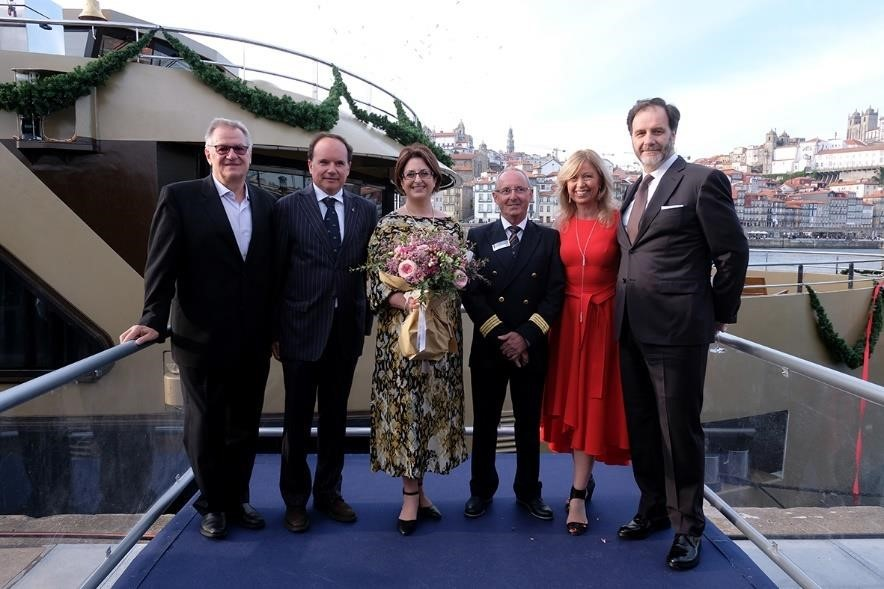 AMAWATERWAYS WELCOMES AMADOURO AND CELEBRATES HER INAUGURAL VOYAGE WITH FESTIVE CHRISTENING CEREMONY